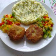 Karbanátky se sýrem a kaší recept