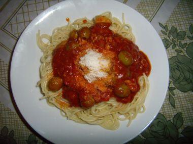 Pasta aschiuta pastačuta  výborná omáčka na špagety