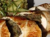 Cibulovo bylinkové krůtí rolky recept