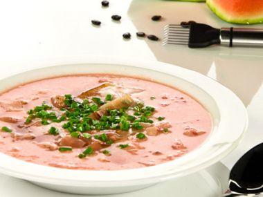 Melounová polévka studená