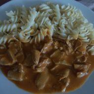 Králičí maso na paprice recept