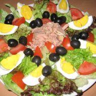 Salát s tuňákem a vejci recept
