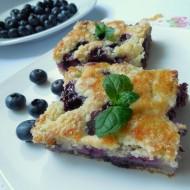 Hrníčkový borůvkový koláč recept
