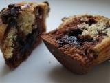 Duo muffiny plněné marmeládou recept