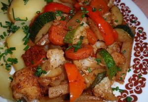 Adžika zeleninová směs