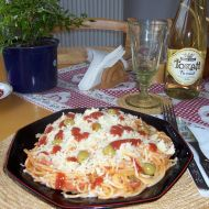 Špagety po česku recept
