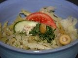 Zelný salát s křenem recept