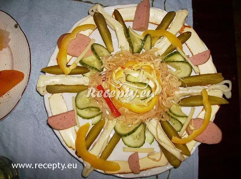 Obložený talíř co dům dal recept  předkrmy, snídaně