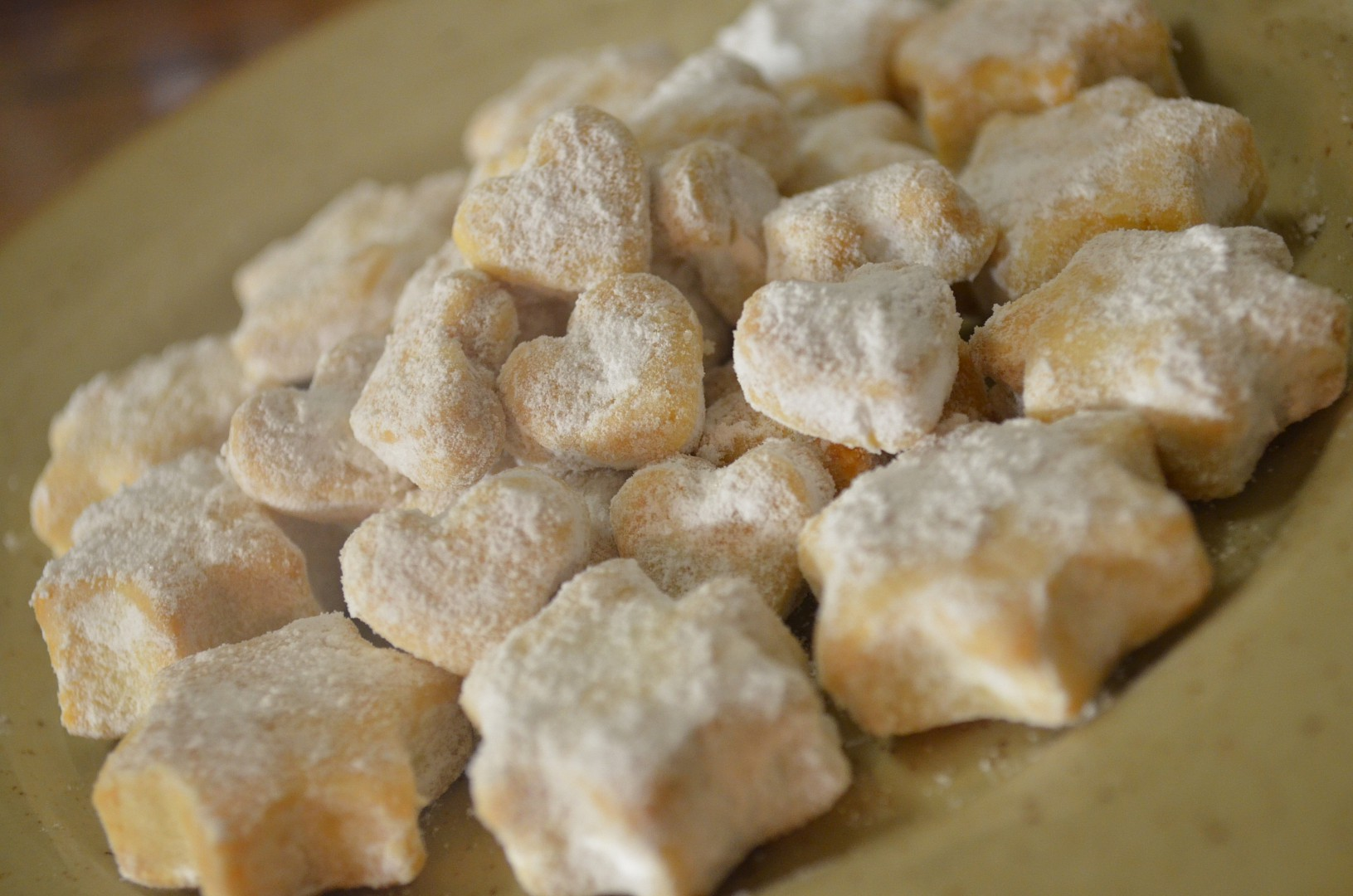 Cukroví z vinného těsta recept