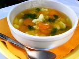 Falešná slepičí polévka (z tykve) recept