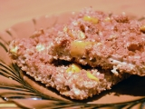 Zdravý celozrnný koláč s jablky a ořechovou posypkou recept ...