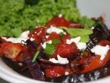 Melanzane con pomodoro  lilek v rajčatech recept