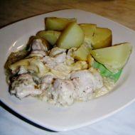 Kuře s tatarskou omáčkou recept