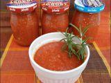 Rajčatové pyré s pečeným česnekem recept
