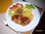 Stehýnka s čabajkovou klobásou recept