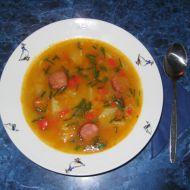 Vydatná polévka s klobáskou recept