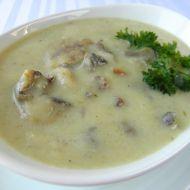 Celerová polévka s houbami recept