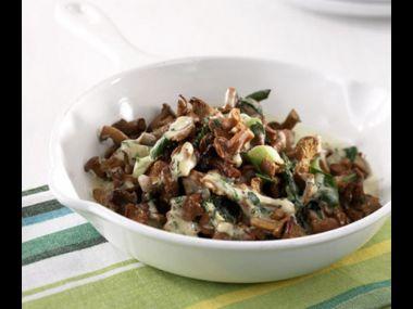 Celer dušený na houbách