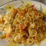 Zapečené dietní těstoviny alá Itálie recept