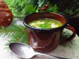 Polévka risi-bisi s hříbky recept