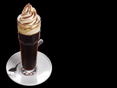 Vídeňská káva vynikající