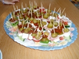 Jednohubky se zeleninou recept