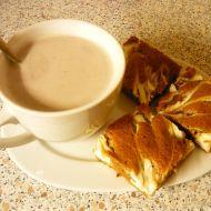 Jogurtová buchta s mramorem recept