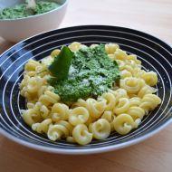 Těstoviny s pestem z medvědího česneku recept