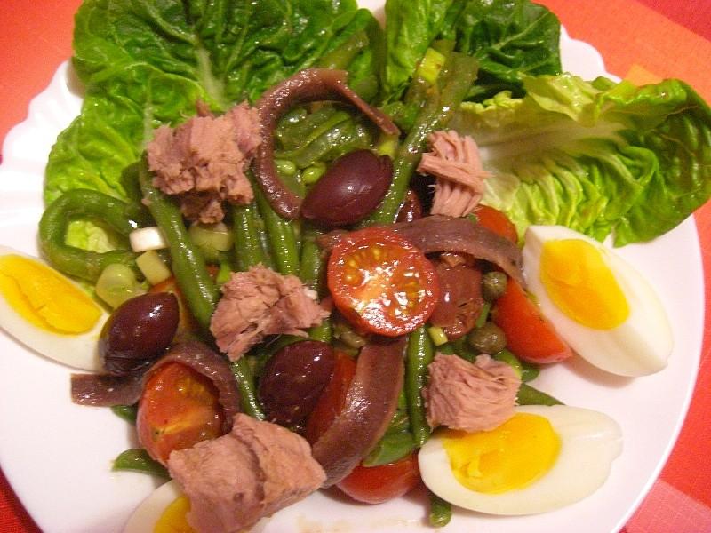 Salát Niçoise 2 recept