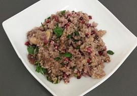 Salát s quinoou recept