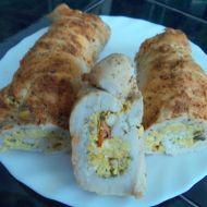 Krůtí roláda s vaječnou náplní recept