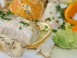 Platýz v krémové marinádě a citrusech recept