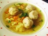 Zeleninová polévka s hlívovými knedlíčky recept