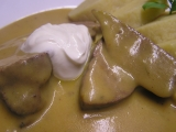 Vepřová tyrolská játra recept
