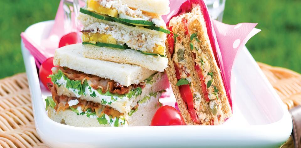 Jarní sendviče