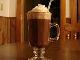 Horká čokoláda se šlehačkou recept
