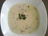 Žampionový krém s bramborami recept