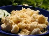 Zapečený květák se sýrem recept