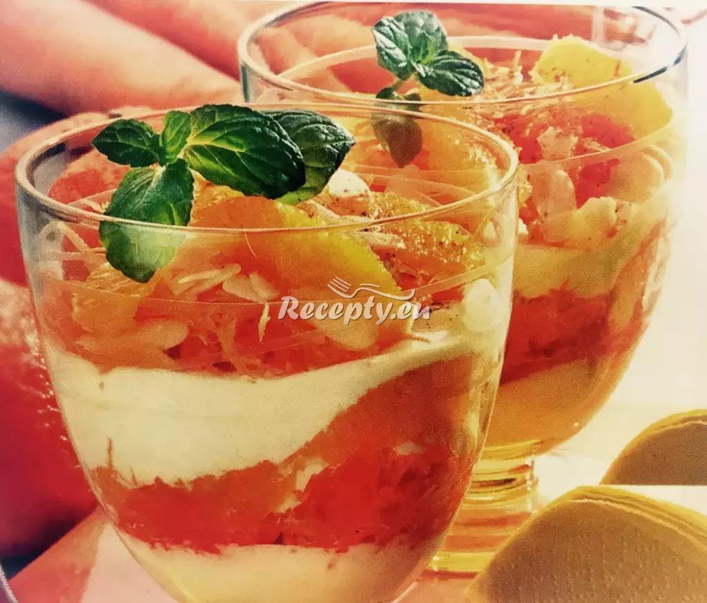 Osvěžující mrkvové poháry recept  ovocné pokrmy