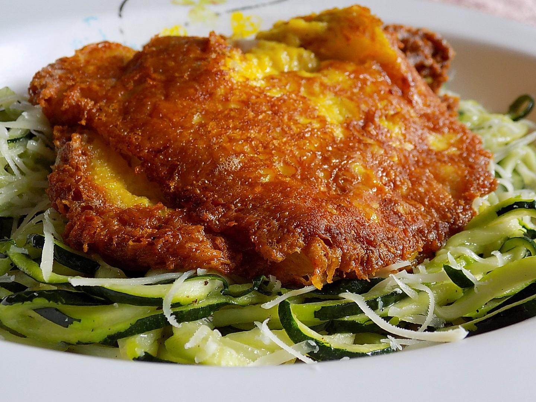 Kuřecí řízek v sýrové krustě recept