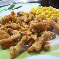 Pikantní kuřecí nudličky recept