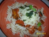 Těstoviny po italsku se sýrem recept