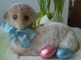 Velikonoční beránek z podmáslí s ořechy recept
