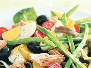 Salát Nicoise 1