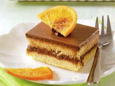 Pomerančové kostky s čokoládou