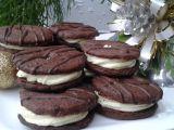 Kakaová kolečka s čokoládovo-koňakovým krémem recept ...