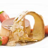 Krém Caramel s mandlovým tuiles recept