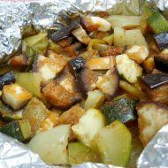 Zeleninové překvapení na grilu recept