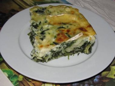 Recept Těstoviny zapečené se špenátem