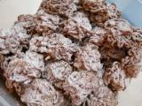 Skořicové cukroví z lisu na česnek recept